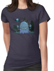 Pixel Ghost Womens Fitted T-Shirt