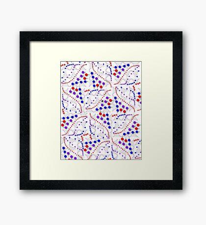"""Binomial Poisson Cumulative""© Framed Print"