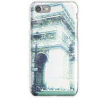 Arc de Triomphe, Paris, Vintage Feel iPhone Case/Skin