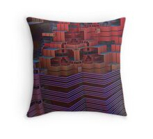 Storage Complex Throw Pillow