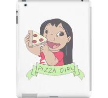 LILO PIZZA GIRL iPad Case/Skin