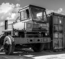 Working Truck on the dock at Potter's Cay - Nassau, The Bahamas by Jeremy Lavender Photography