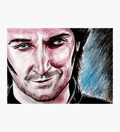 Richard Armitage, the good side of Guy Photographic Print