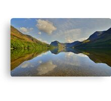 The Lake District: Buttermere Reflections Canvas Print