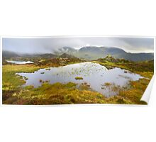 The Lake District: The Tarns on Haystacks Poster