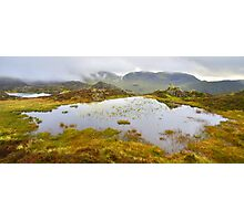 The Lake District: The Tarns on Haystacks Photographic Print