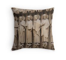 EXTERIOR DETAILS Throw Pillow