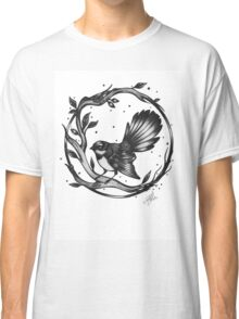 New Zealand Fantail Classic T-Shirt