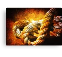 Heavy ropes Canvas Print