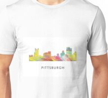 Pittsburgh, Pennsylvania Skyline WB1 Unisex T-Shirt