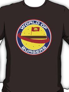 Shameless - World Of Burgers T-Shirt