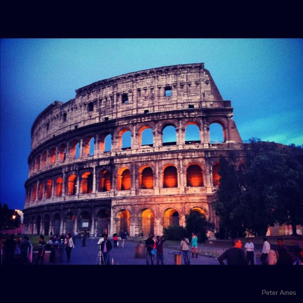 Twilight Colosseum by Peter Ames