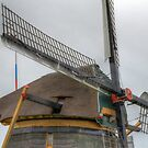 Dutch wind mil by Peter Wiggerman