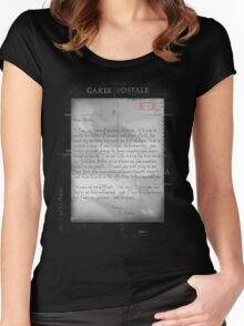 Dear Edith Crawley Women's Fitted Scoop T-Shirt