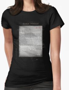 Dear Edith Crawley Womens Fitted T-Shirt