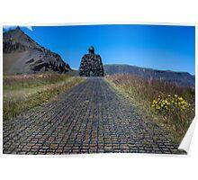Arnarstapi, west Iceland Poster