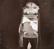 Indian Hopi - Navajo Doll by Carl  Onsae
