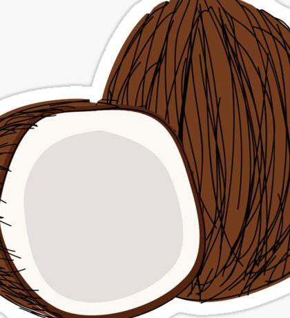 Coconuts Sticker