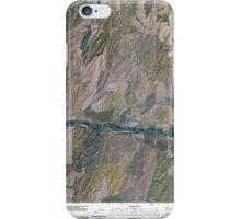 USGS Topo Map Washington State WA Prescott 20110404 TM iPhone Case/Skin