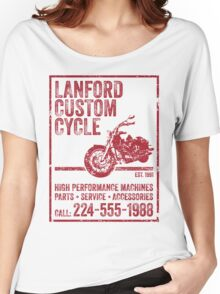 Lanford Custom Cycle Women's Relaxed Fit T-Shirt