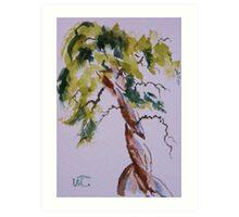 Cypress Curves Art Print