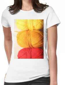 Balls of Wool Graphic Shirt Womens Fitted T-Shirt