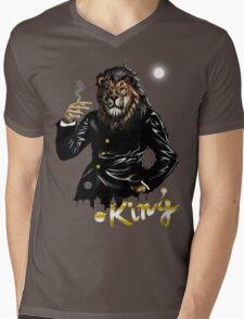 King Mens V-Neck T-Shirt