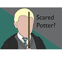 Scared Potter? Photographic Print