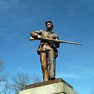Union Solider, Gettysburg Battlefield National Park, PA USA by Jane Neill-Hancock