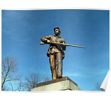 Union Solider, Gettysburg Battlefield National Park, PA USA Poster