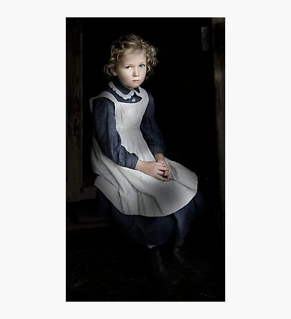 Lonely Child Photographic Print