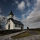 little church at Thingvellir national park by JorunnSjofn Gudlaugsdottir