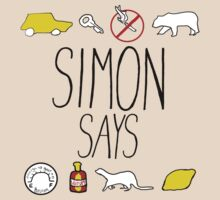 Simon Says (Black Lettering) by thatbekkahgirl