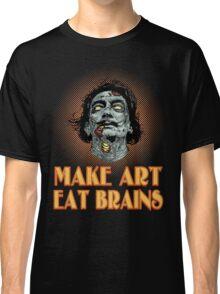 Zombie Dali Says... Classic T-Shirt