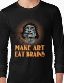 Zombie Dali Says... Long Sleeve T-Shirt