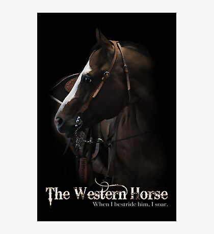 Western Horse Photographic Print