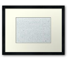 LeGrand Daily Mood Chart! Framed Print