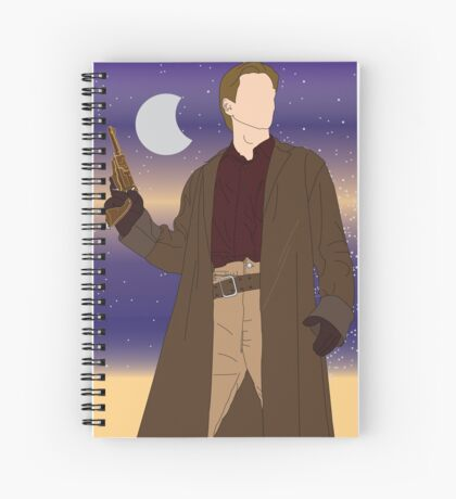 Captain Malcolm Reynolds  Spiral Notebook