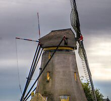 old preserved windmill by Nicole W.