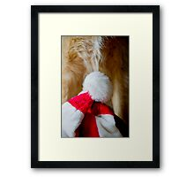 Have Yourself a Furry Little Christmas Framed Print
