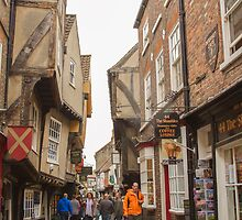 The Shambles, York by Pauline Tims