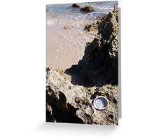 Oyster At Mermaid's Pool 23 09 12 Greeting Card