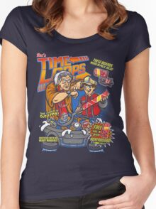 Time Loops Women's Fitted Scoop T-Shirt