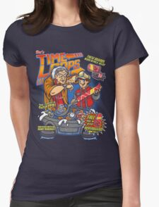 Time Loops Womens Fitted T-Shirt