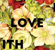 I Fall In Love, 2015 Sticker