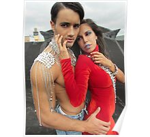 Model romance Poster