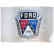 Ford Graphic Shirt 2 Poster