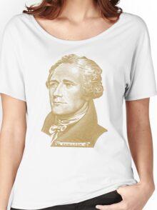 Alexander Hamilton Portrait Women's Relaxed Fit T-Shirt