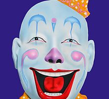 Amusement Park Clown by jsalozzo