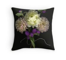 Tiny Bouquet Throw Pillow